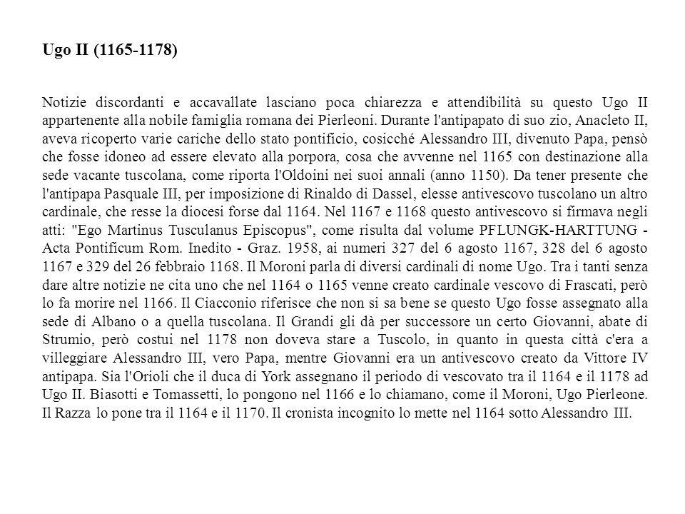 Ugo II (1165-1178)