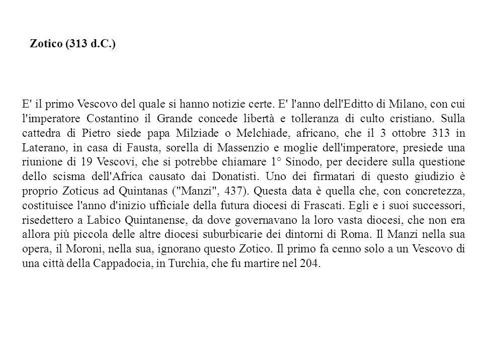 Zotico (313 d.C.)