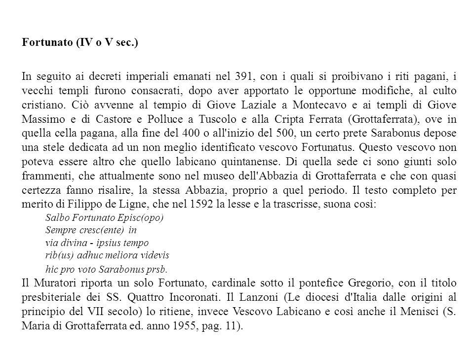 Fortunato (IV o V sec.)