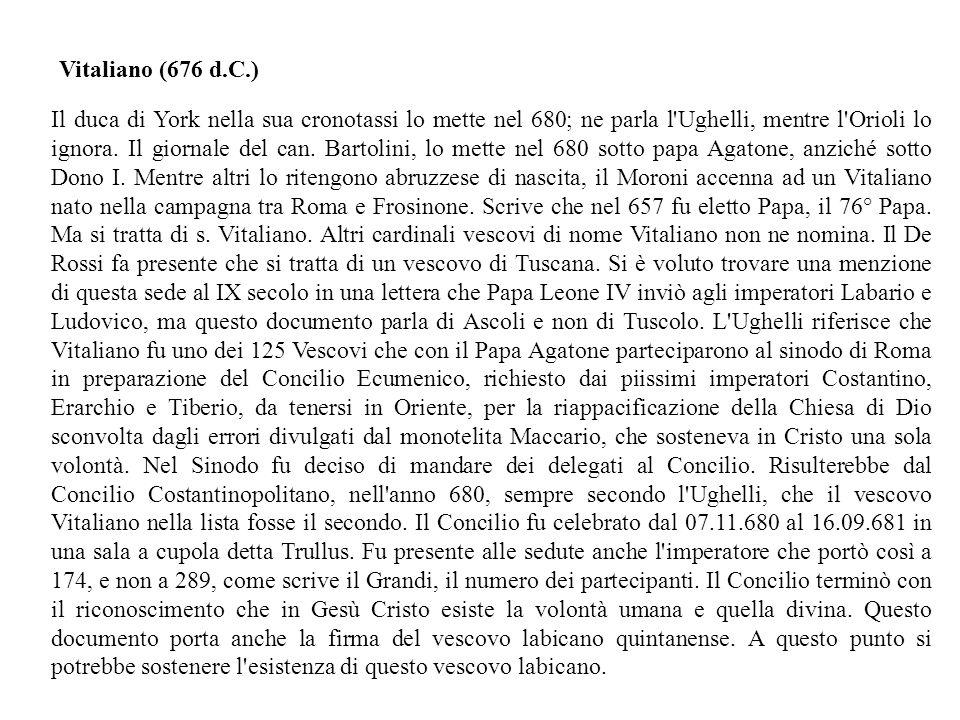 Vitaliano (676 d.C.)