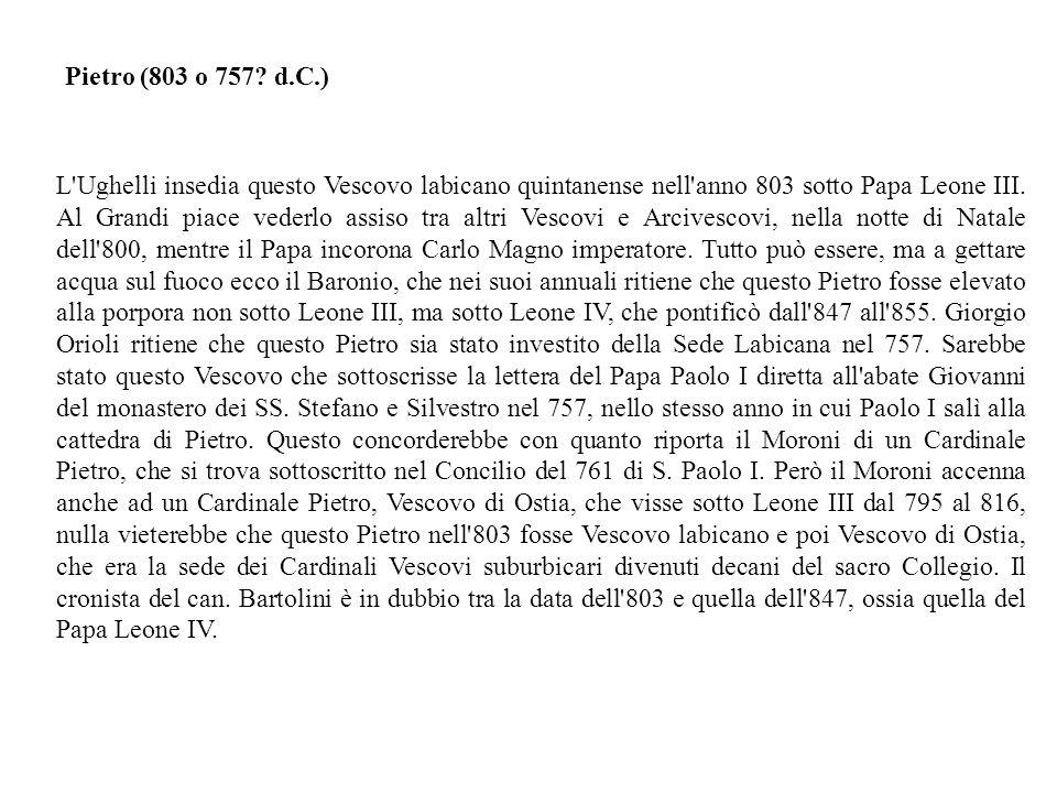 Pietro (803 o 757 d.C.)