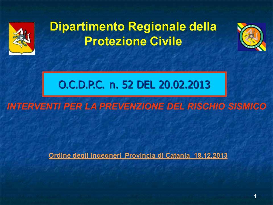Dipartimento Regionale della Protezione Civile