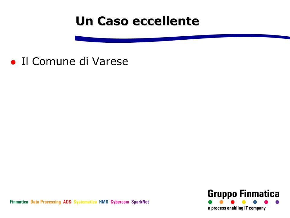 Un Caso eccellente Il Comune di Varese