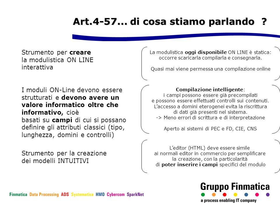Art.4-57... di cosa stiamo parlando