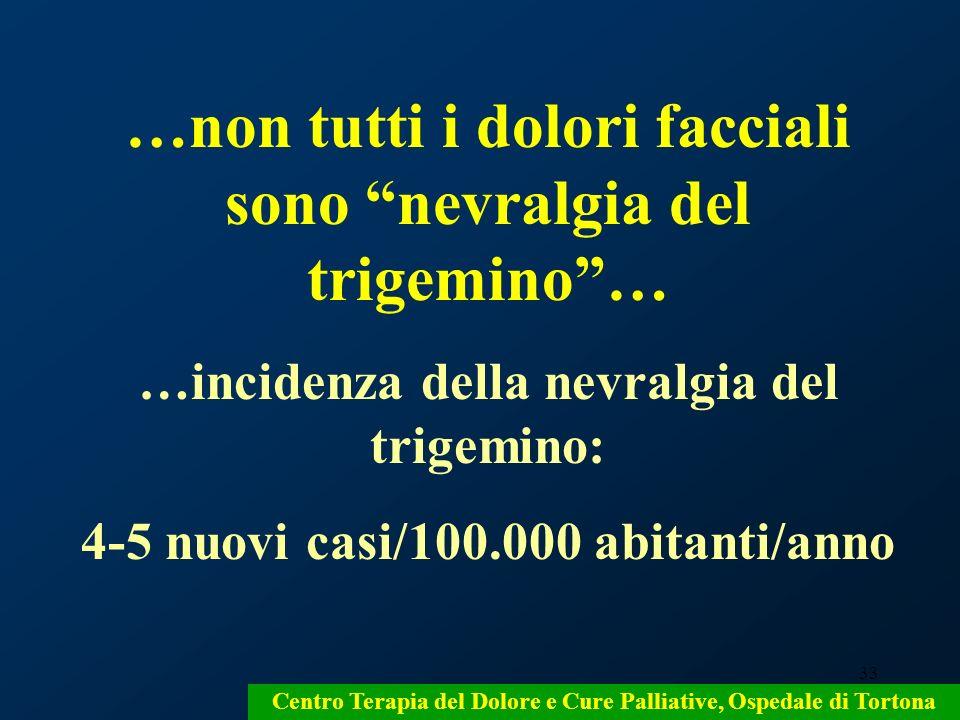 …non tutti i dolori facciali sono nevralgia del trigemino …