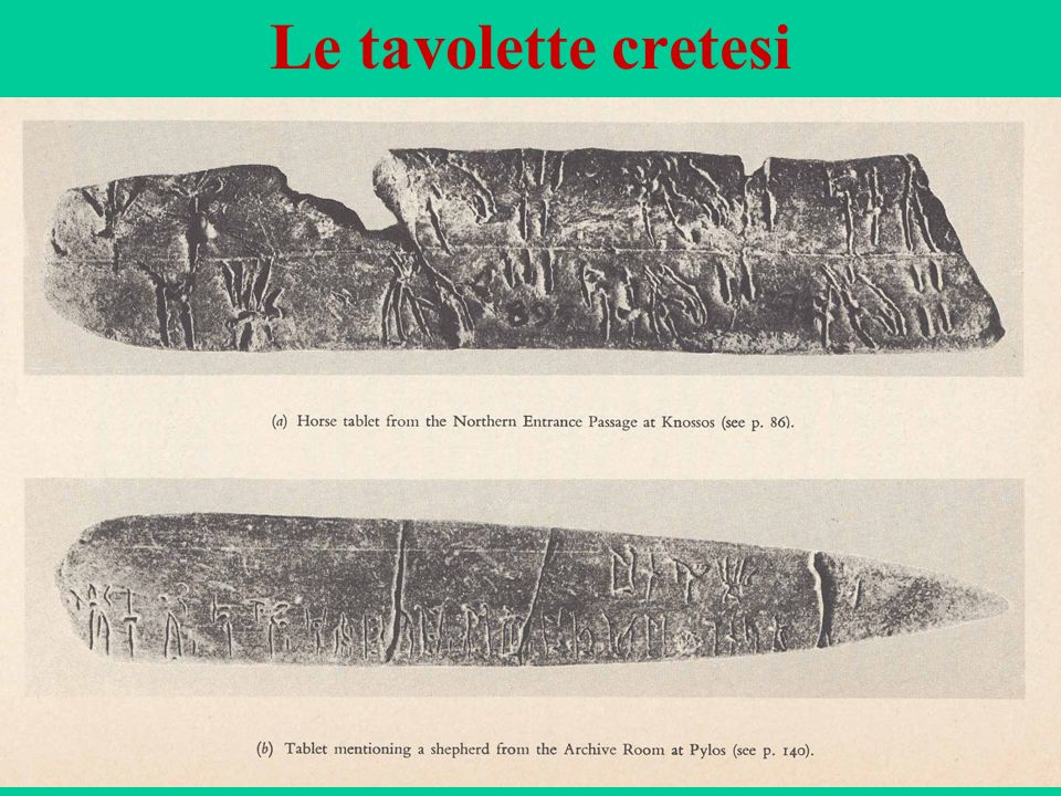 Le tavolette cretesi