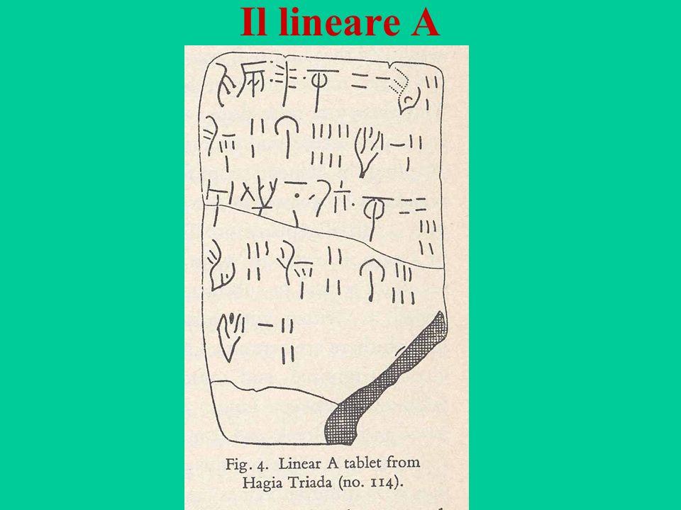 Il lineare A