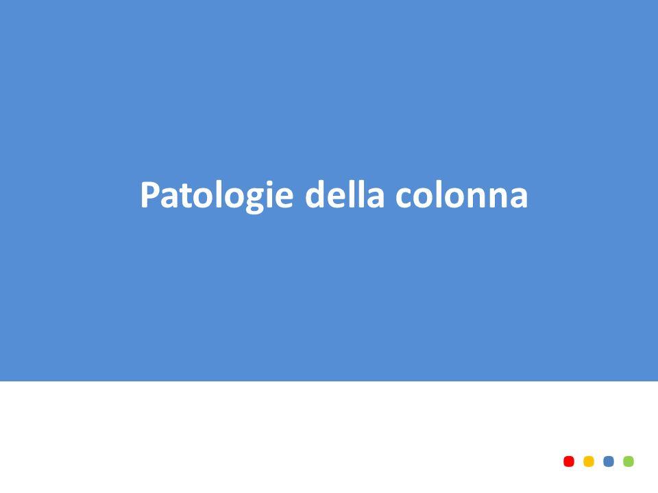 Patologie della colonna