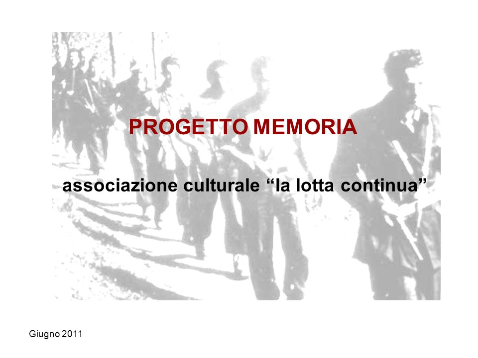 associazione culturale la lotta continua