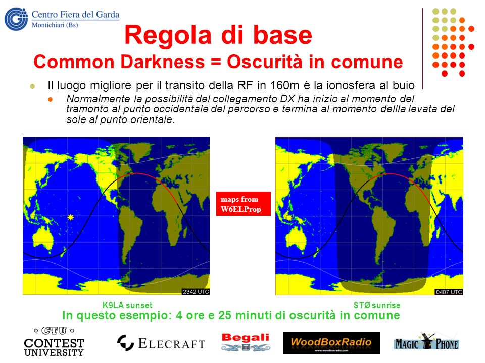 Regola di base Common Darkness = Oscurità in comune