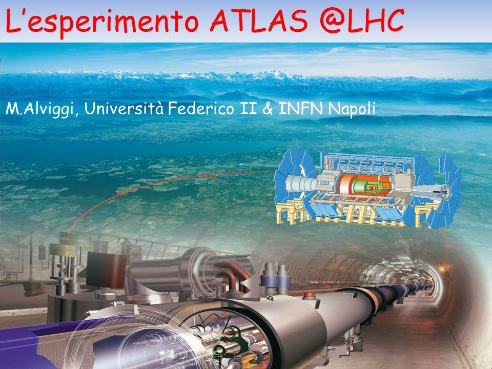 L'esperimento ATLAS @LHC