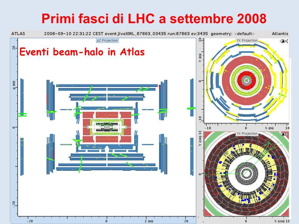 Primi fasci di LHC a settembre 2008