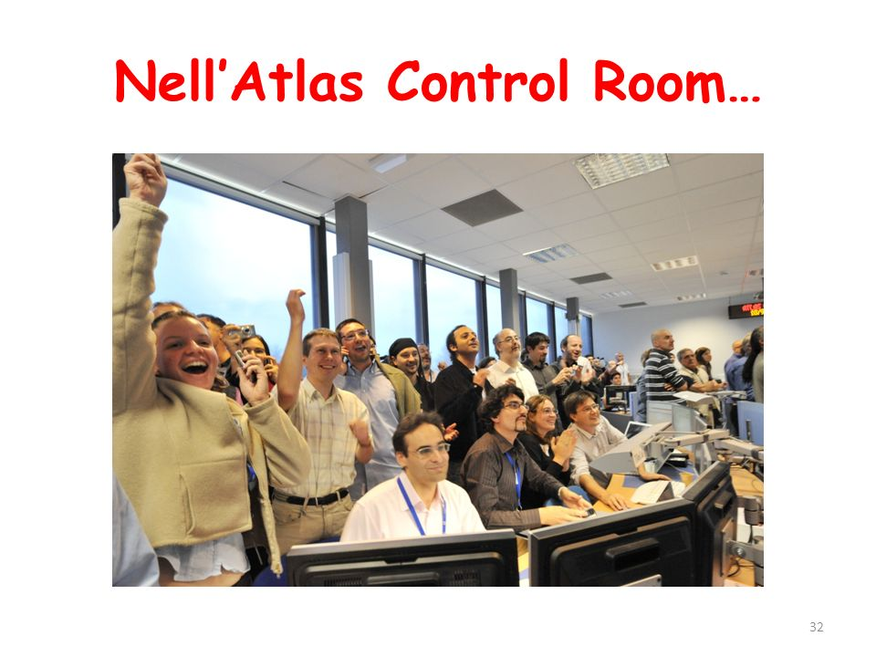Nell'Atlas Control Room…