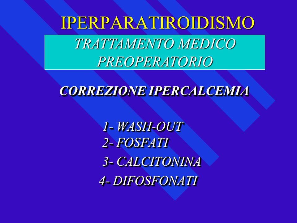 TRATTAMENTO MEDICO PREOPERATORIO
