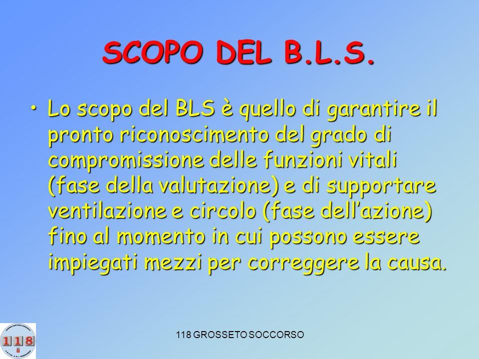 SCOPO DEL B.L.S.