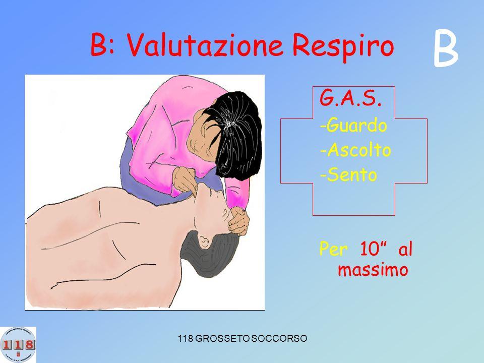 B: Valutazione Respiro
