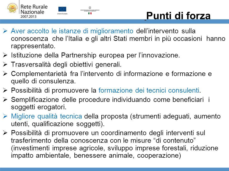 Istituzione della Partnership europea per l'innovazione.