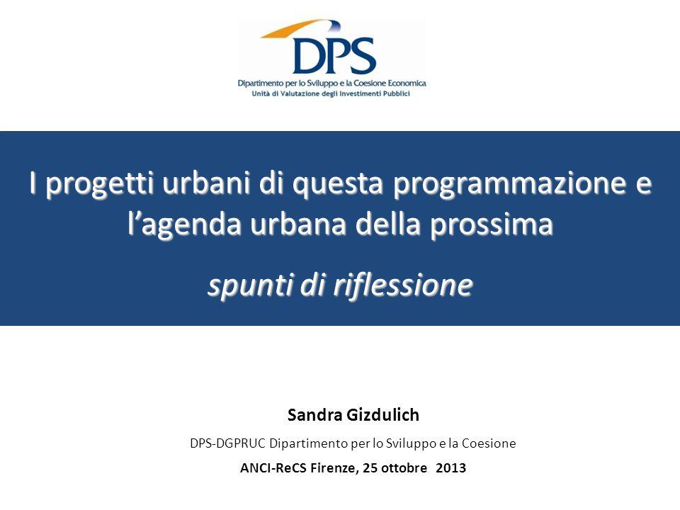 ANCI-ReCS Firenze, 25 ottobre 2013