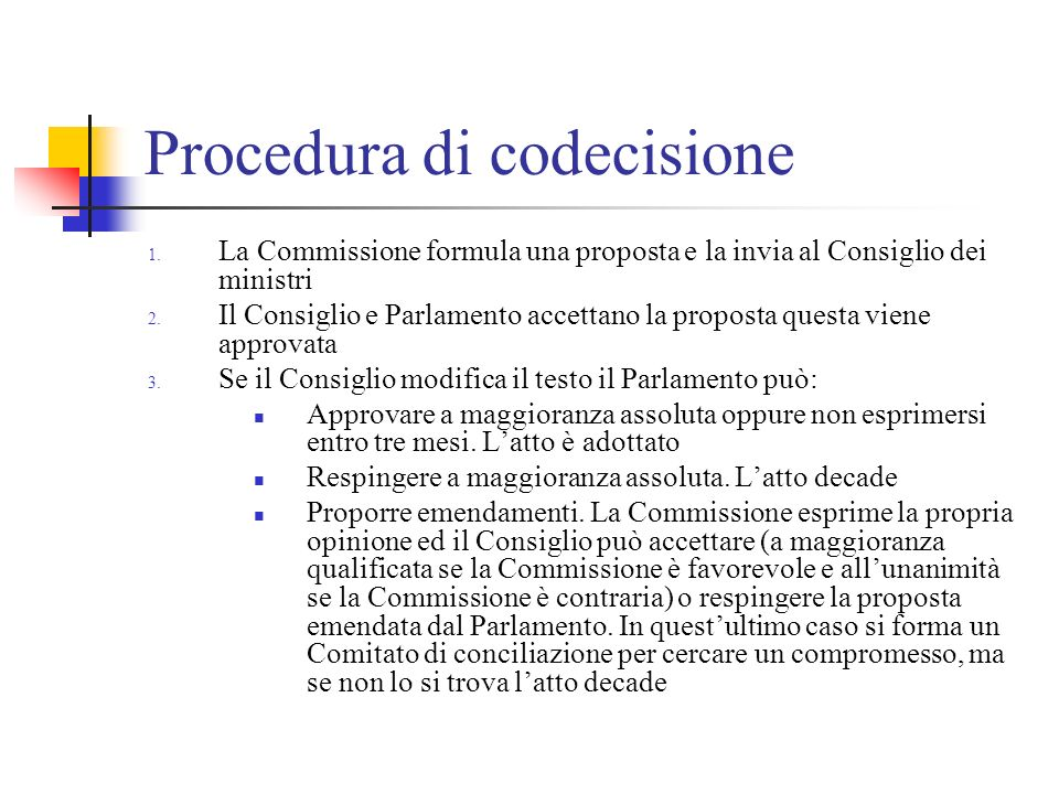 Procedura di codecisione