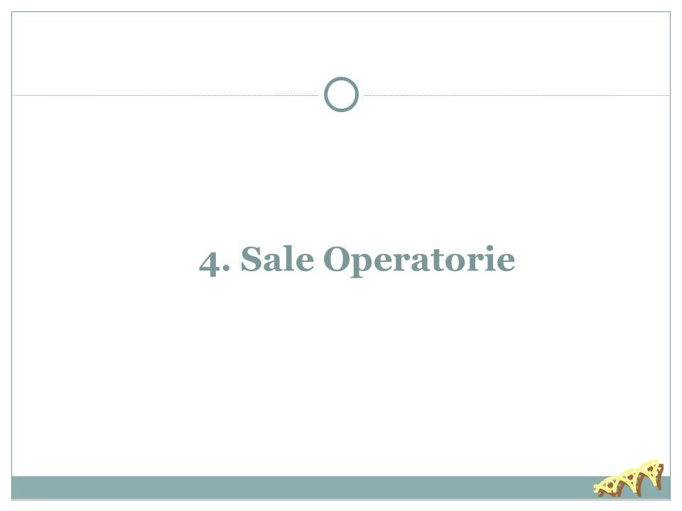 30/11/13 4. Sale Operatorie