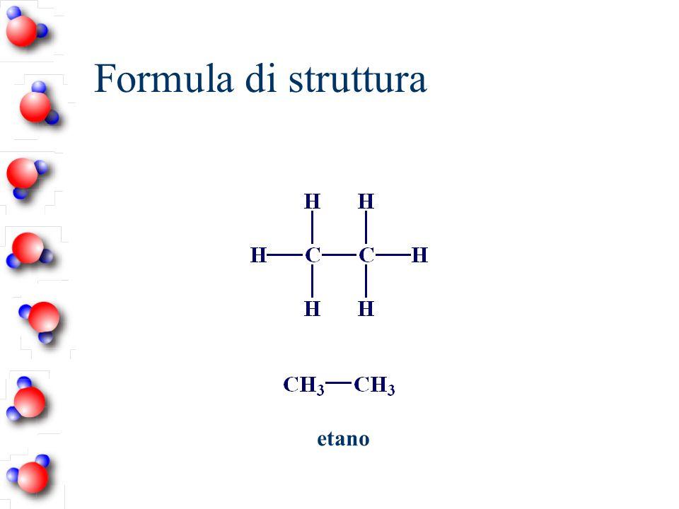Formula di struttura etano