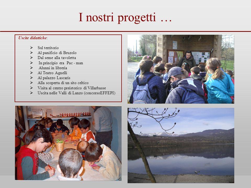 I nostri progetti … Uscite didattiche: Sul territorio