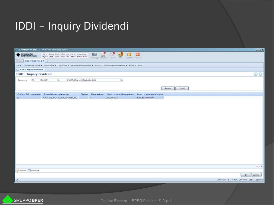 IDDI – Inquiry Dividendi