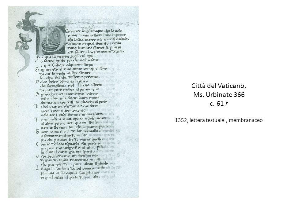 1352, lettera testuale , membranaceo