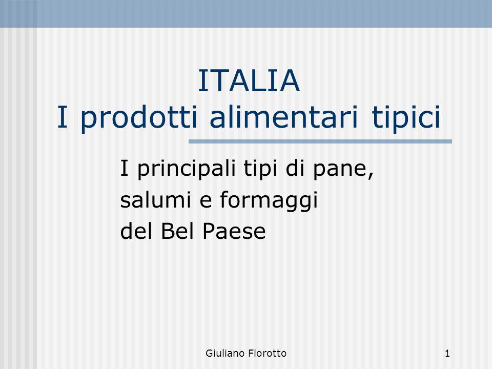 ITALIA I prodotti alimentari tipici