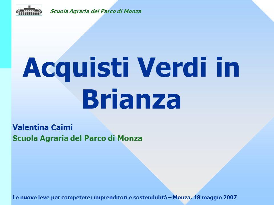 Acquisti Verdi in Brianza