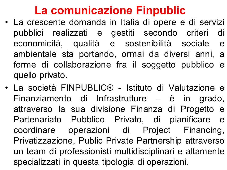La comunicazione Finpublic