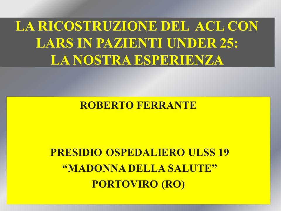 PRESIDIO OSPEDALIERO ULSS 19 MADONNA DELLA SALUTE