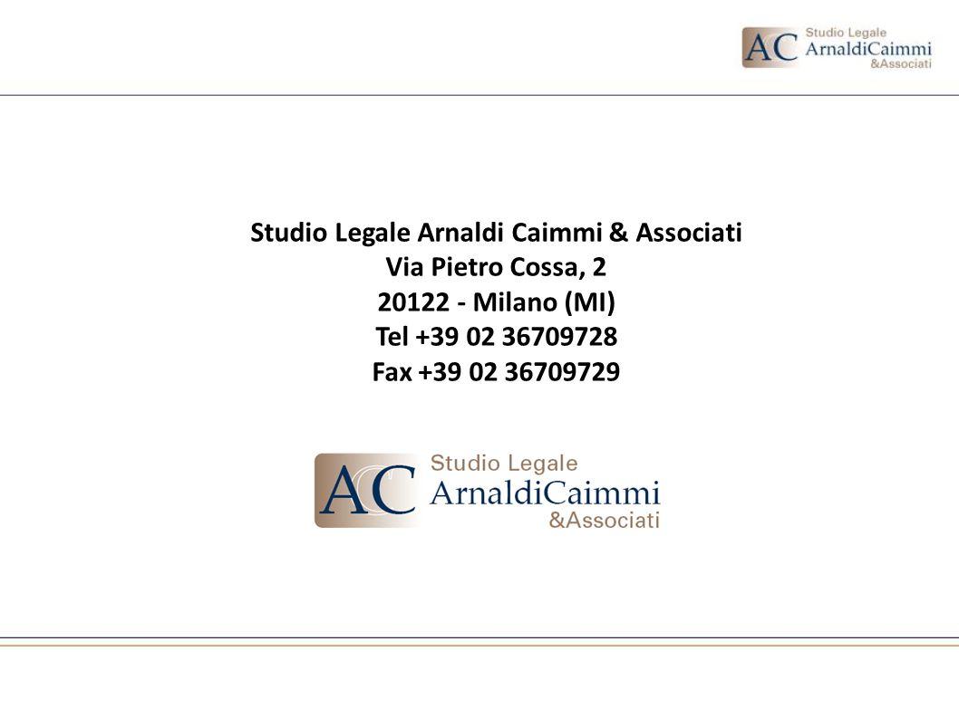 Studio Legale Arnaldi Caimmi & Associati