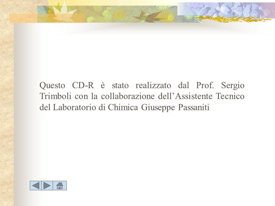 Questo CD-R è stato realizzato dal Prof