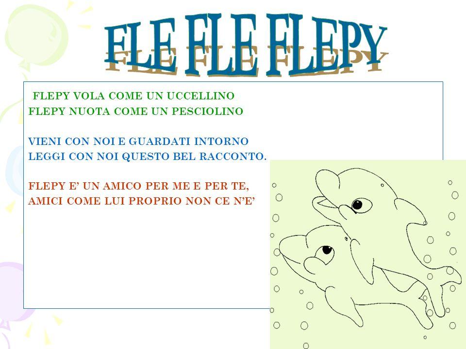 FLE FLE FLEPY FLEPY VOLA COME UN UCCELLINO
