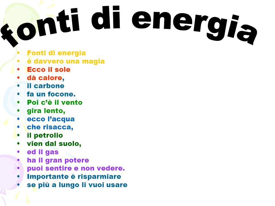 fonti di energia Fonti di energia è davvero una magia Ecco il sole