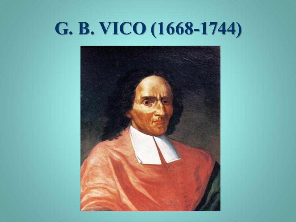 G. B. VICO (1668-1744)