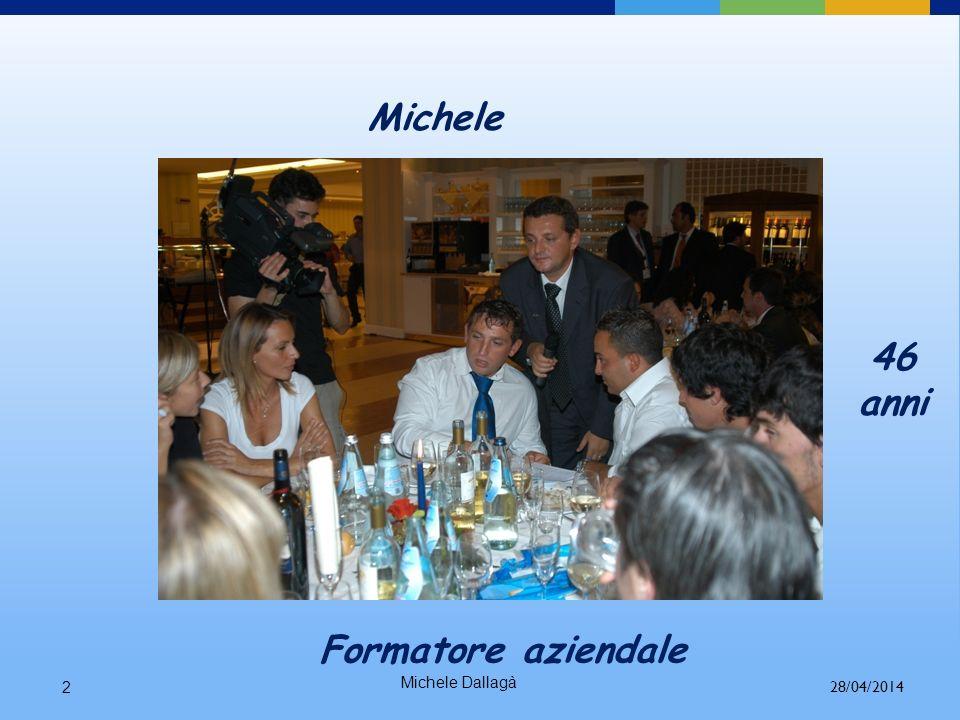 Michele 46 anni Formatore aziendale