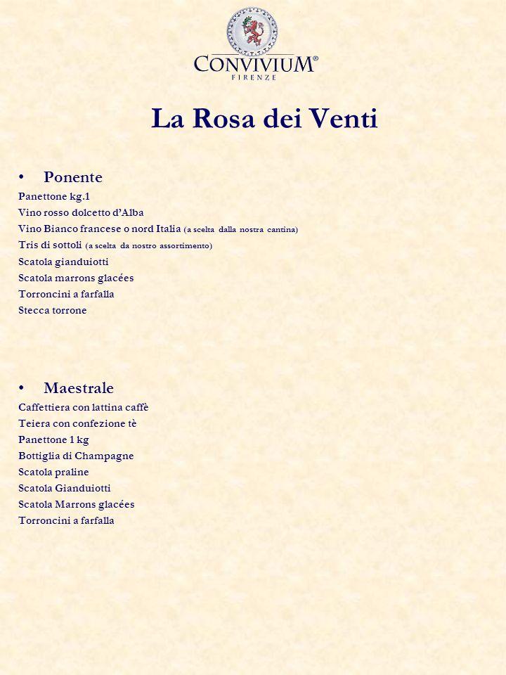 La Rosa dei Venti Ponente Maestrale Panettone kg.1