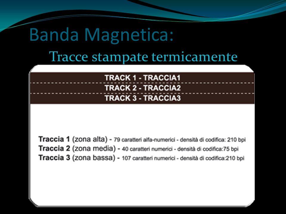 Tracce stampate termicamente