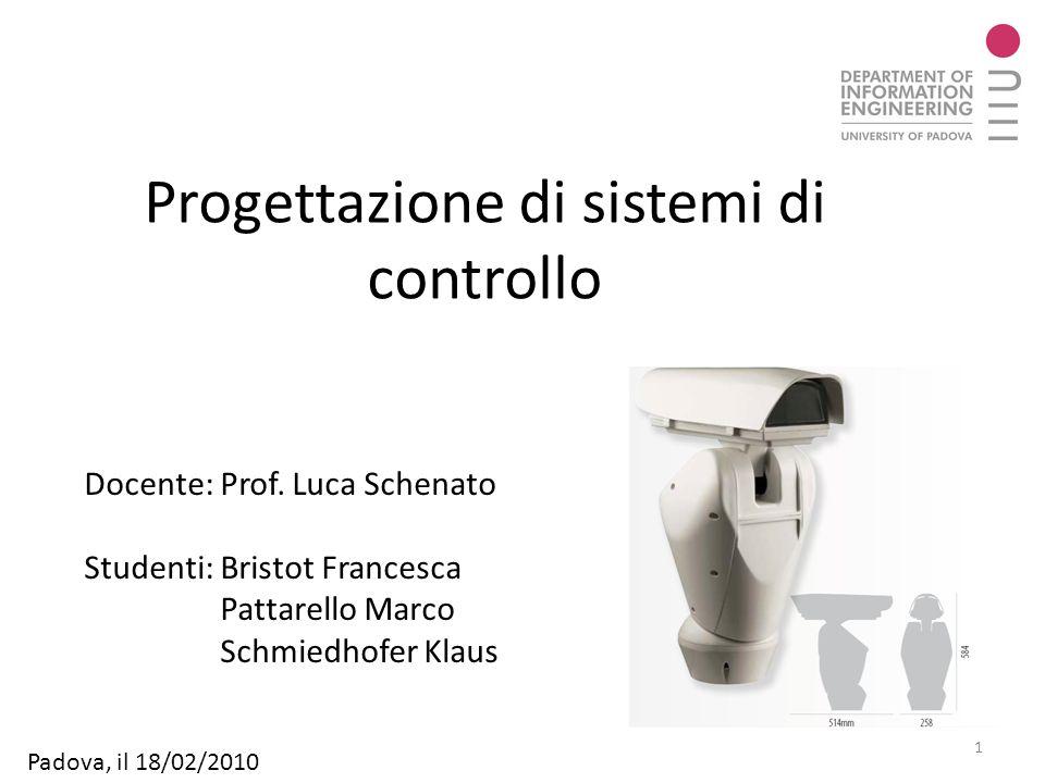 Progettazione di sistemi di controllo