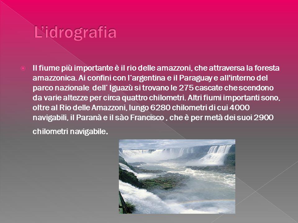 L'idrografia