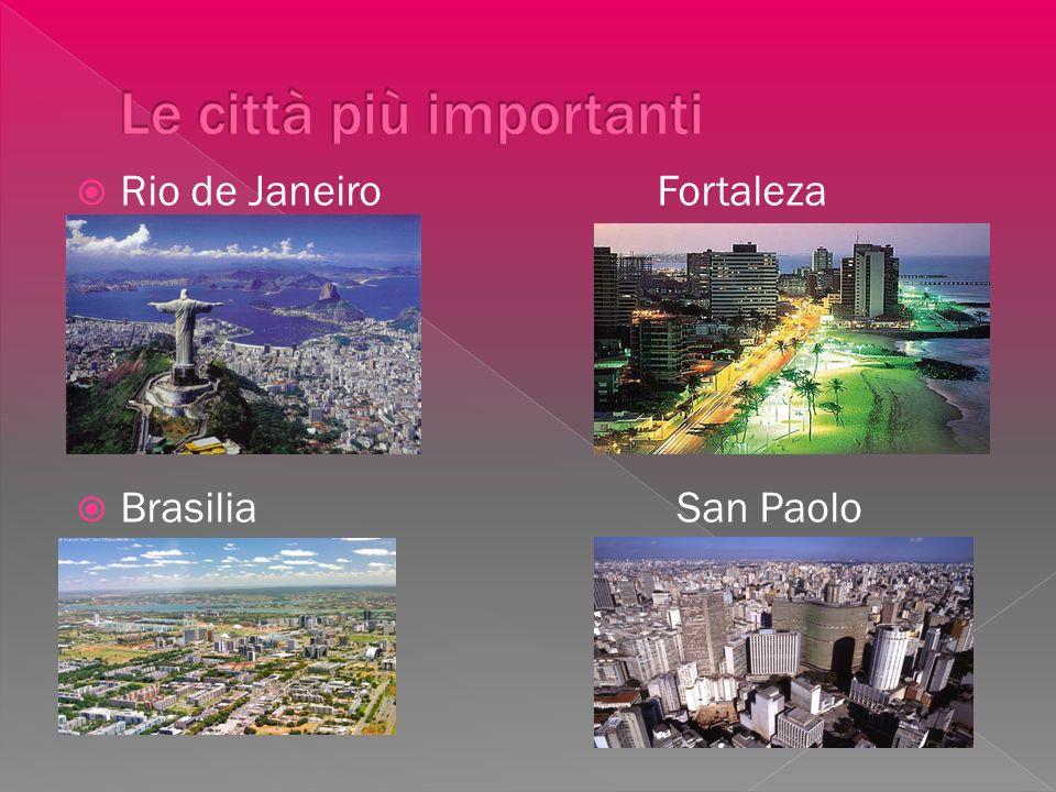 Le città più importanti