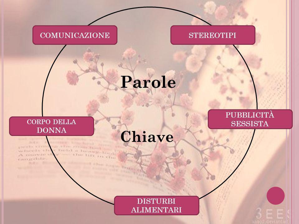 Parole Chiave COMUNICAZIONE STEREOTIPI PUBBLICITÀ SESSISTA