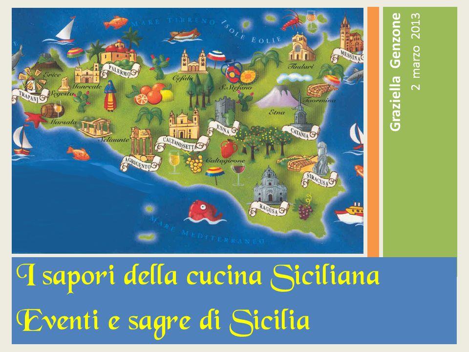 I sapori della cucina Siciliana Eventi e sagre di Sicilia