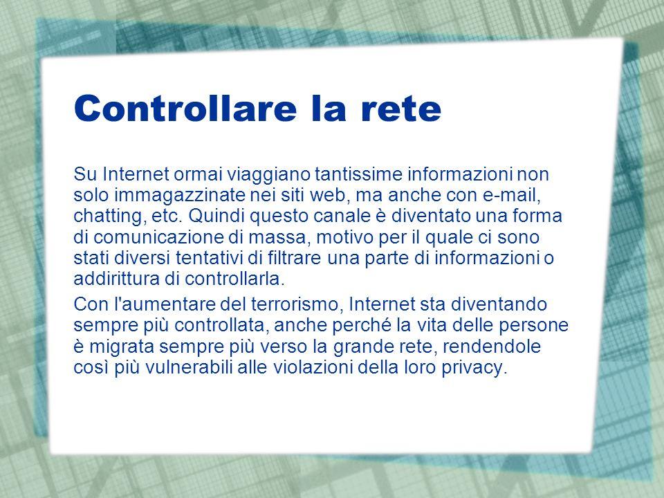 Controllare la rete