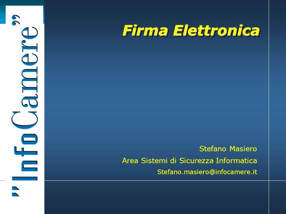 Firma Elettronica Stefano Masiero