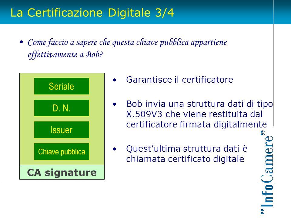 La Certificazione Digitale 3/4