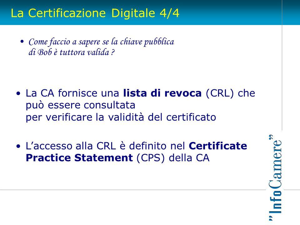 La Certificazione Digitale 4/4