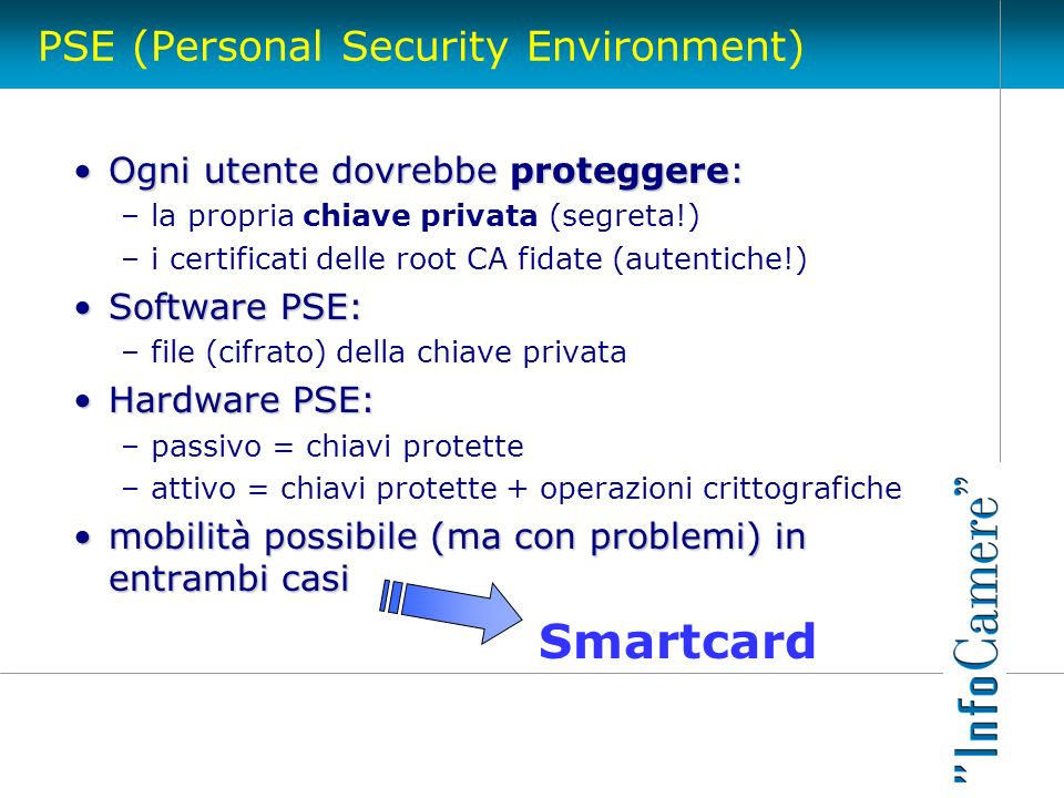 PSE (Personal Security Environment)